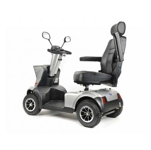 Quadriporteur Afiscooter C4+ | Afikim Gris argent
