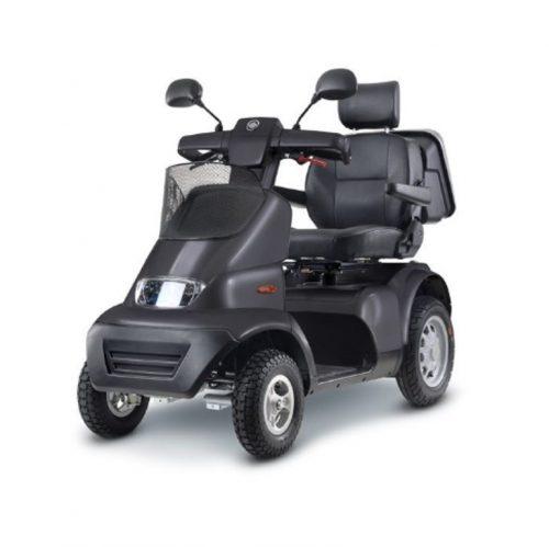 Quadriporteur Afiscooter S4+ | Afikim Gris charbon