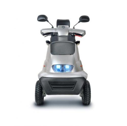 Quadriporteur Afiscooter S4+ | Afikim Gris argent