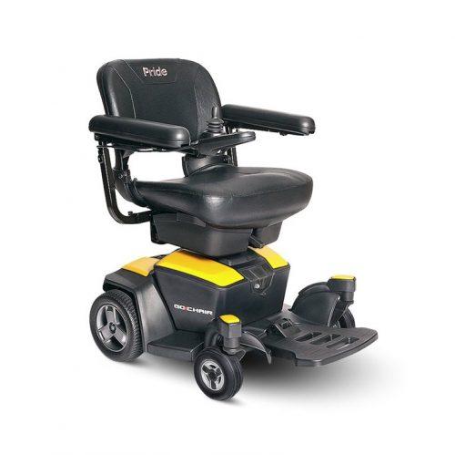 Fauteuil roulant électrique Go-Chair | Pride Citrine Yellow