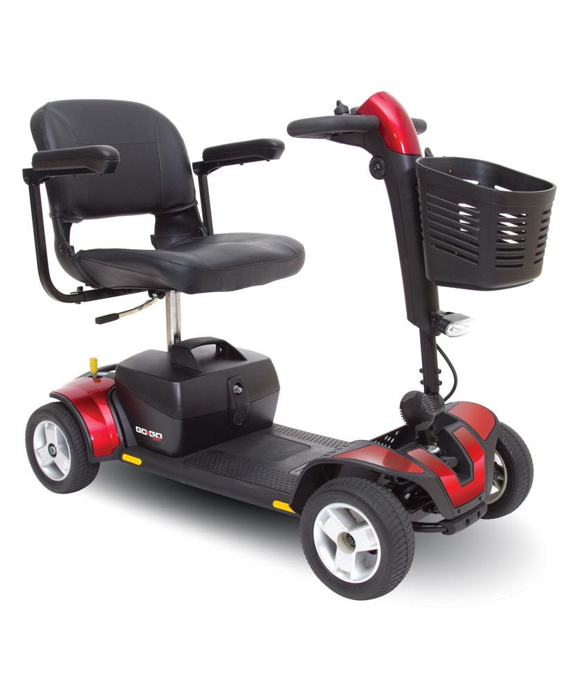 Mini Quadriporteur Go-Go Sport (rouge)