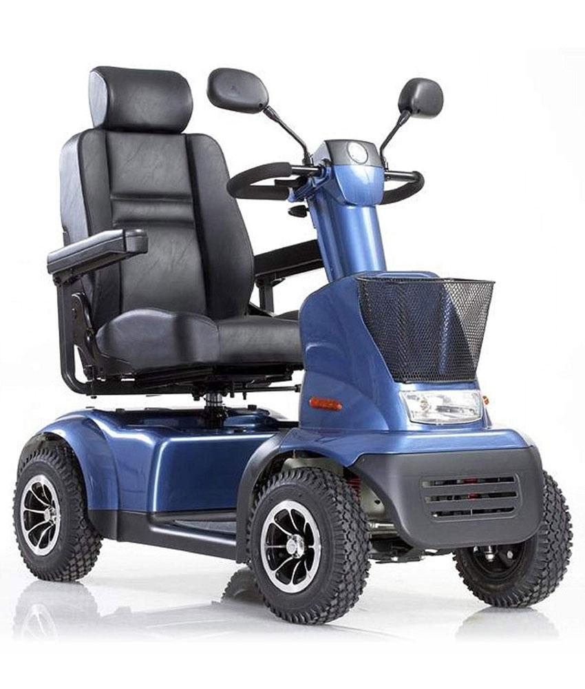 Quadriporteur Afiscooter C4 (bleu)