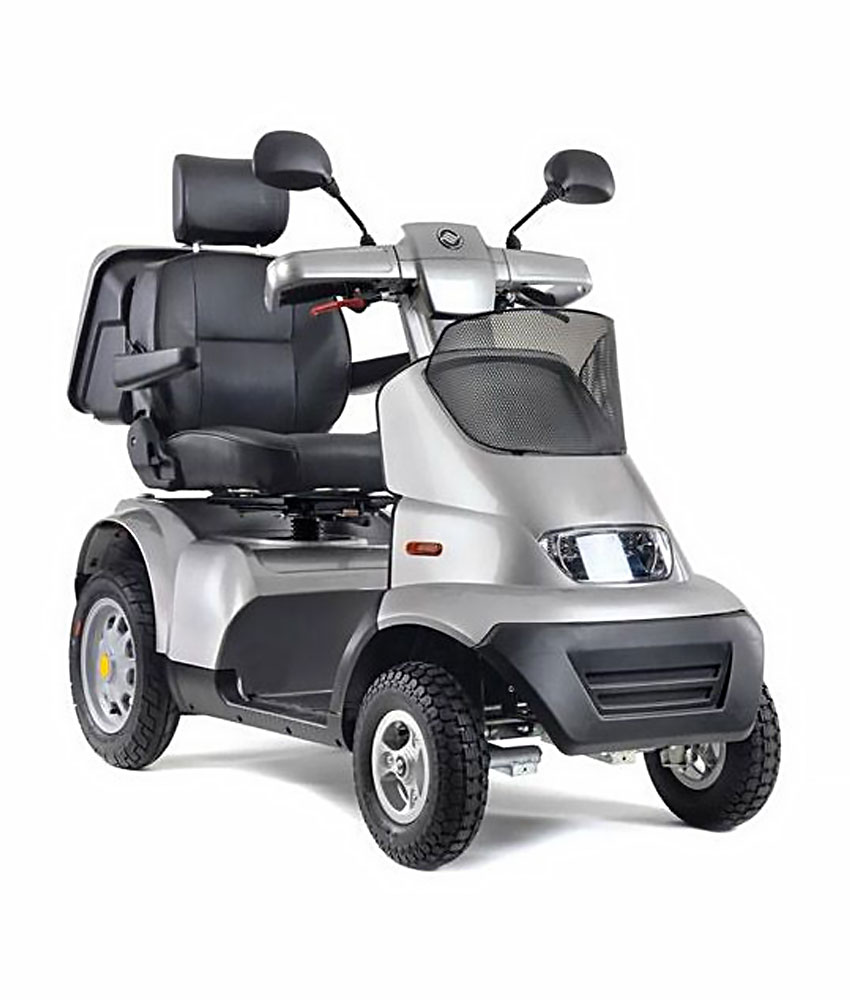 Quadriporteur Afiscooter S4 (argent)