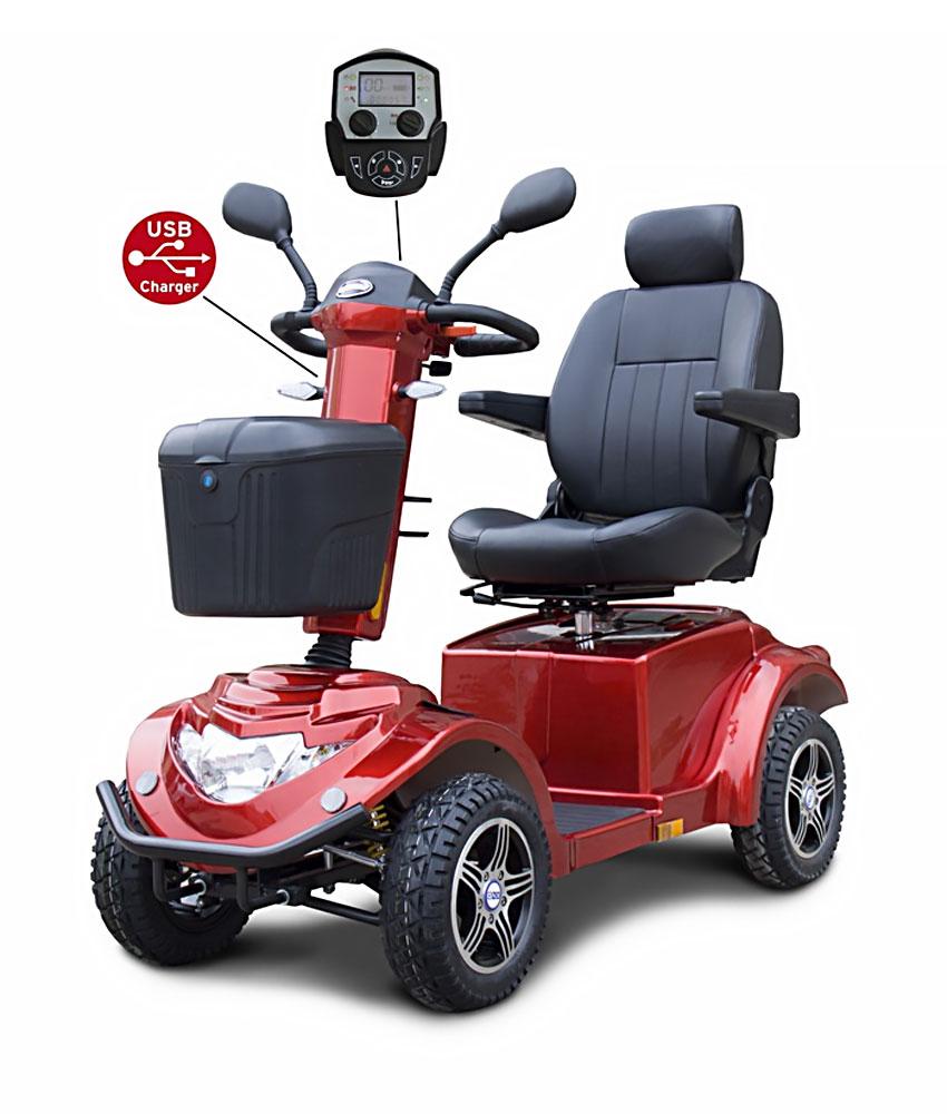 Quadriporteur Orthoquad RZ1500 (rouge)