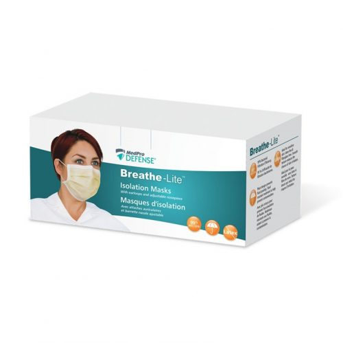 Masques d'isolation Breathe-Lite | MedPro Defense