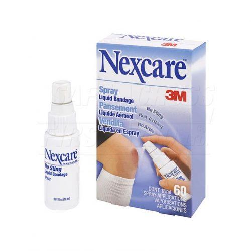 Boite de 60 applications (18 ml) Pansement en aérosol Nexcare | Safe Cross