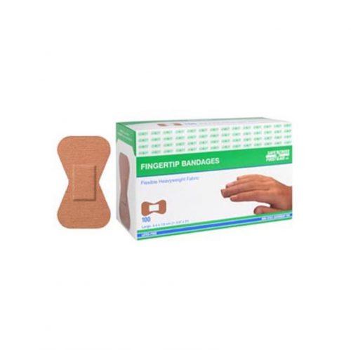 Boite de 100 pansements en tissu Bout de doigt | Safe Cross