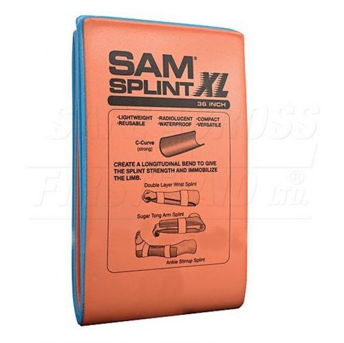 Attelle en aluminium XL 36 po | Sam Splint
