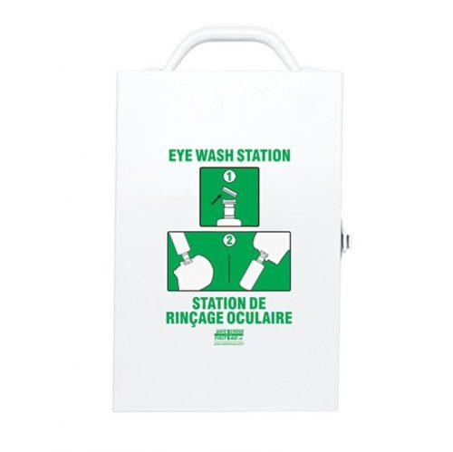 Boitier de station de rinçage oculaire en métal | Safe Cross