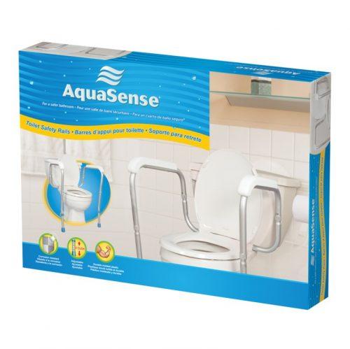 Barre d'appui ajustable pour toilette | AquaSense
