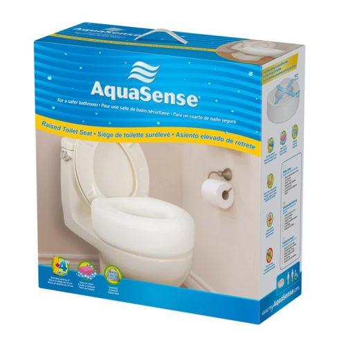 Siège de toilette surélevé | AquaSense