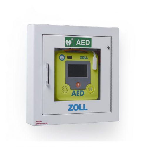Boitier mural semi-encastré pour défibrillateur | ZOLL