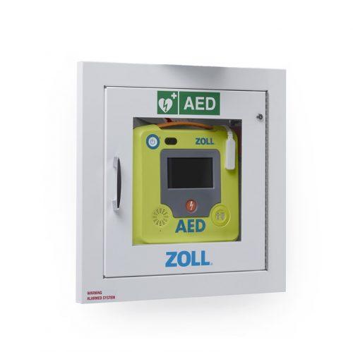 Boitier mural encastré pour défibrillateur | ZOLL