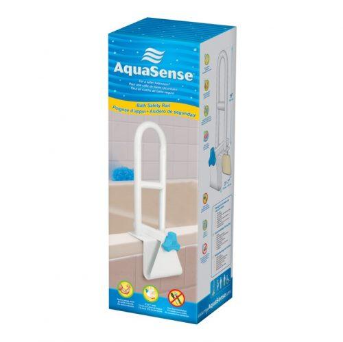 Barre de sécurité pour baignoire en acier | AquaSense