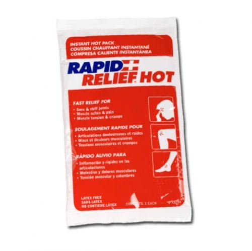 Compresse chaude instantanée | Rapid Relief Hot