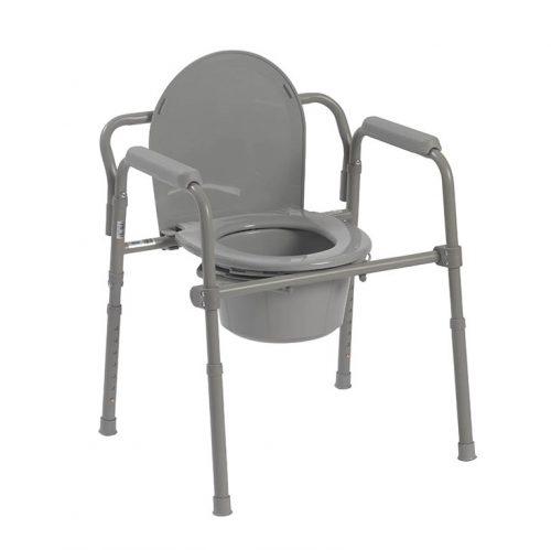 Chaise d'aisance pliante en acier | Drive