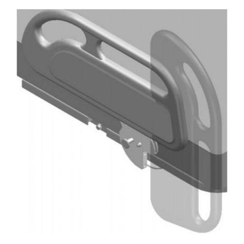 Côté de lit basculant demi-section | Rotec