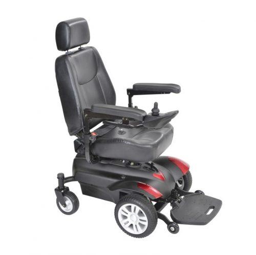 Fauteuil roulant motorisé siège capitaine Titan | Drive