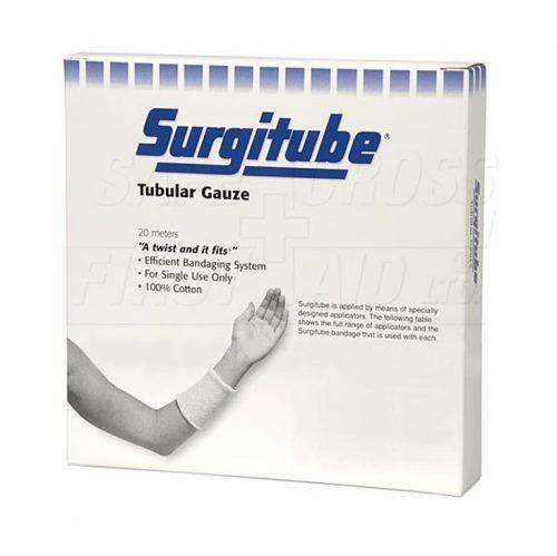 Bandage de gaze tubulaire #4 pour les bras, le bas des jambes, la tête, les cuisses et les jambes d'enfants