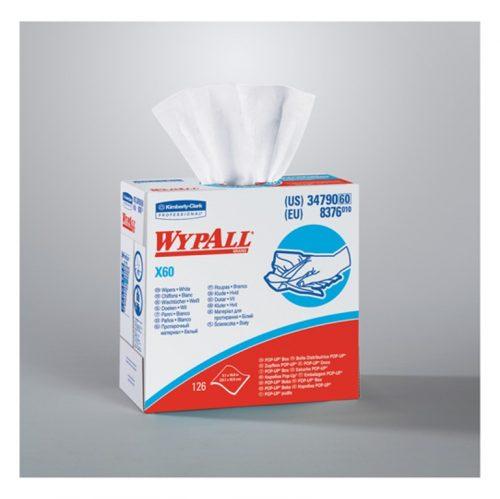 Chiffons essuie-tout industriels X60 Wypall