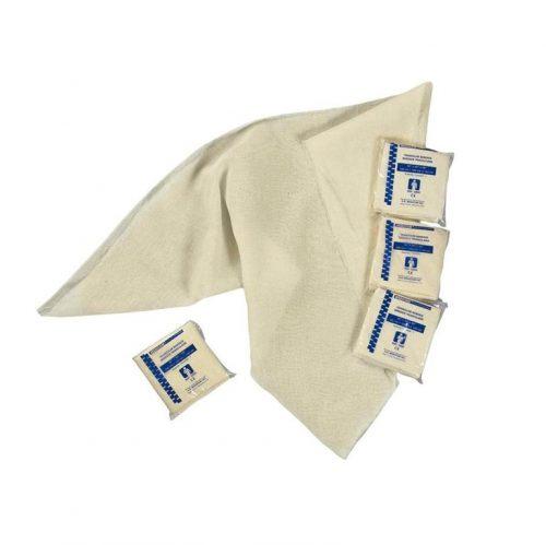 Bandage triangulaire avec épingles à nourrice