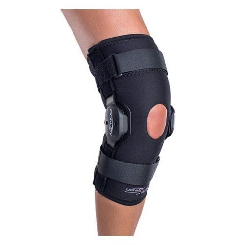 Orthèse de genou articulée enveloppante Deluxe | DonJoy